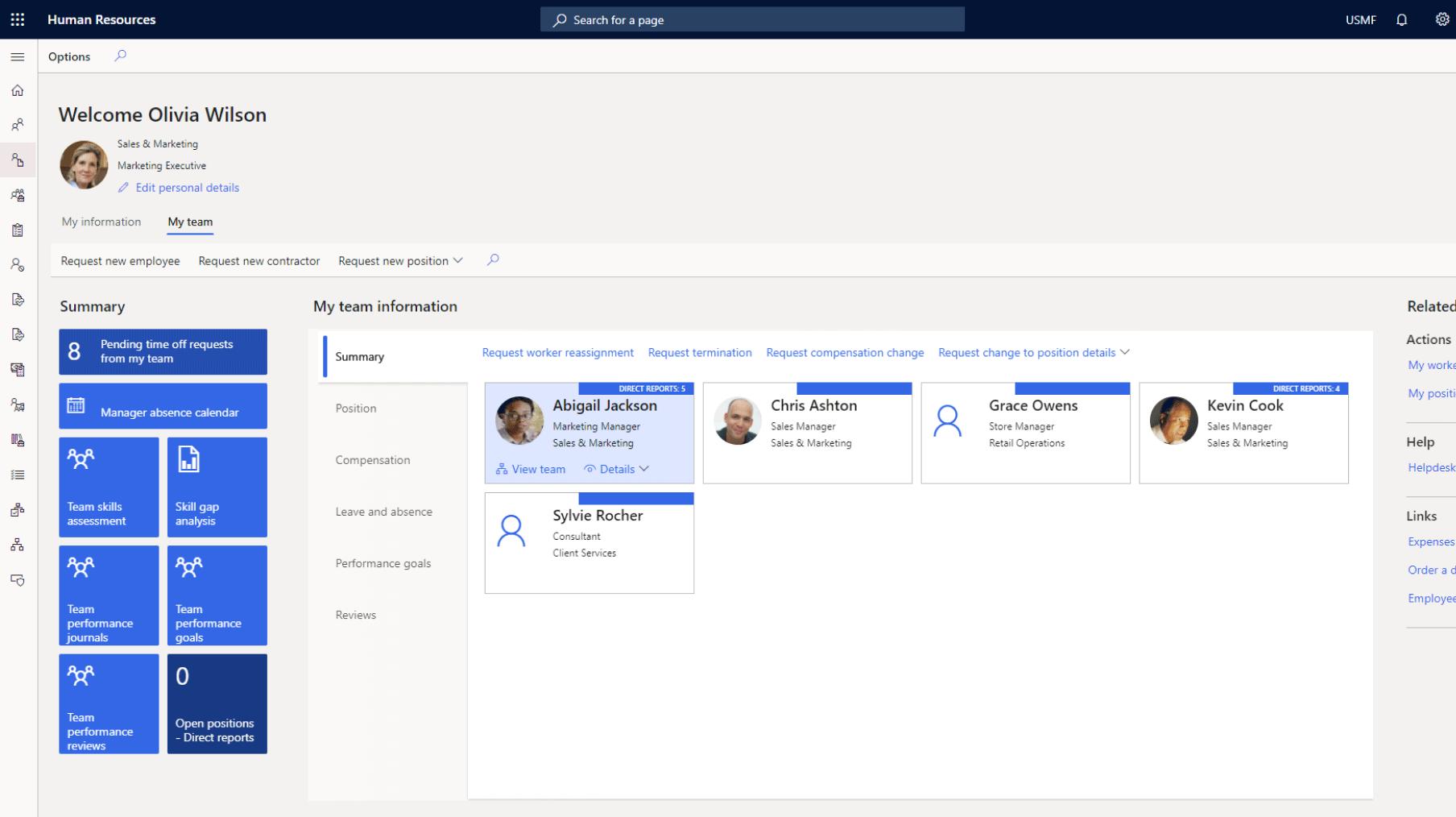 Microsoft Dynamics 365 Human Resources features: LinkedIn Integration
