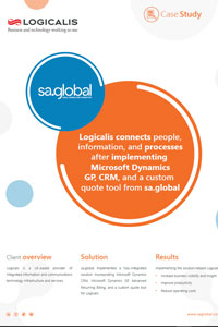 Discover how sa.global helped Logicalis benefit with<br>Microsoft Dynamics CRM