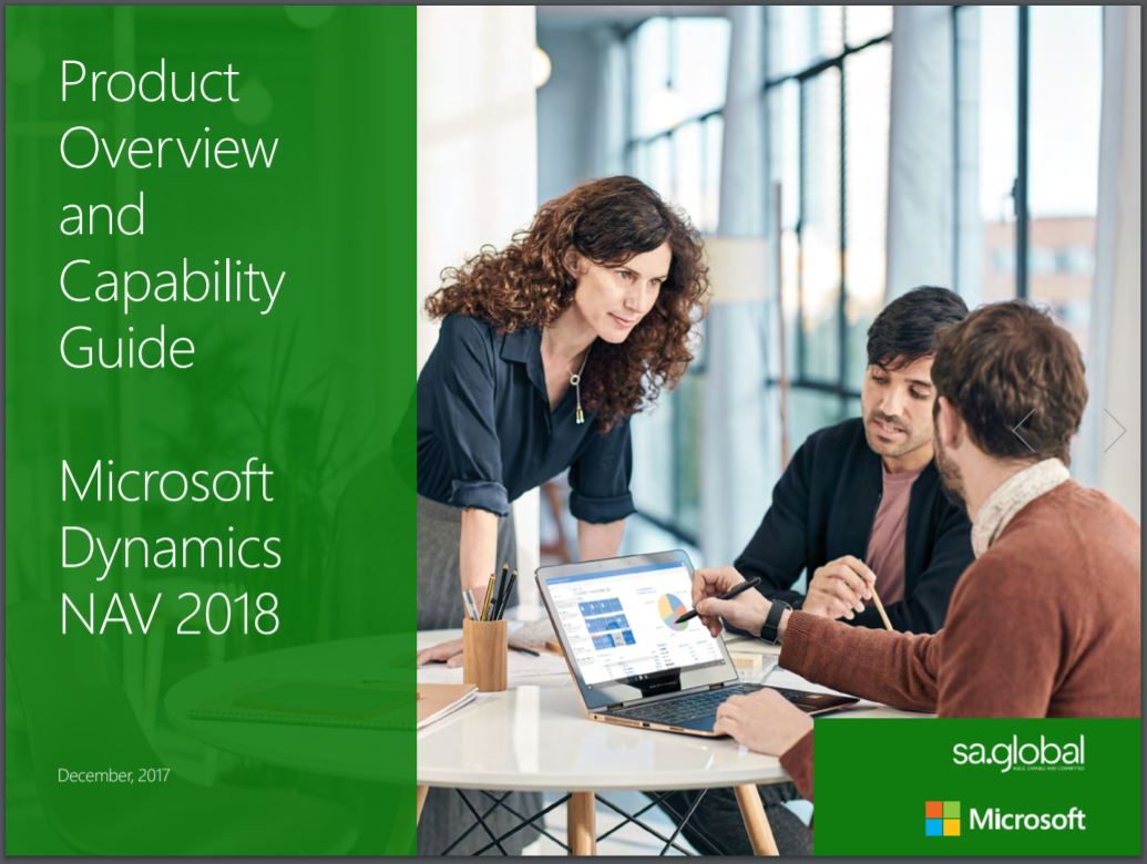 Product overview and capability guide: Microsoft Dynamics NAV 2018