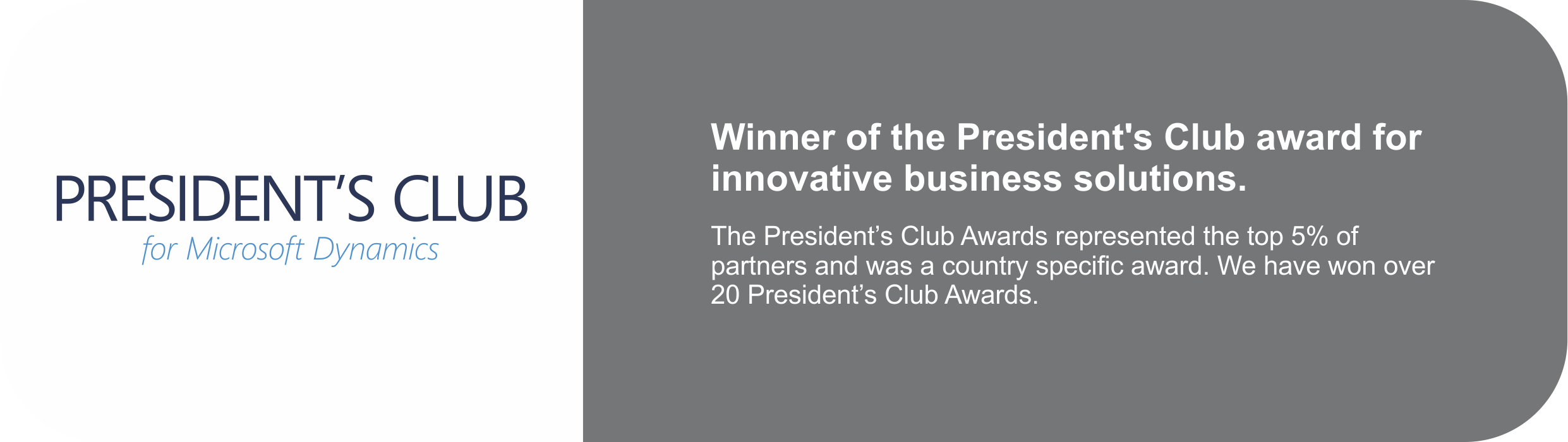 sa.global winner of the President's Club